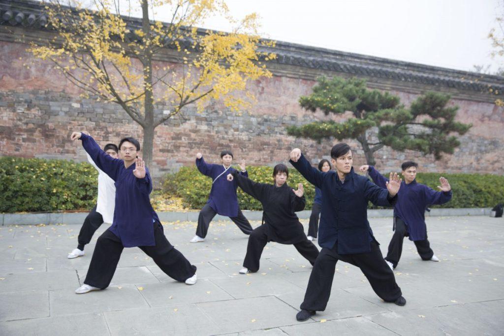 连心同德,台湾学员爱武当山,也爱武当功夫