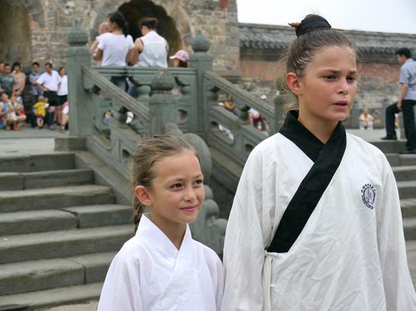 俄罗斯小姐妹,武当道教传统武术馆