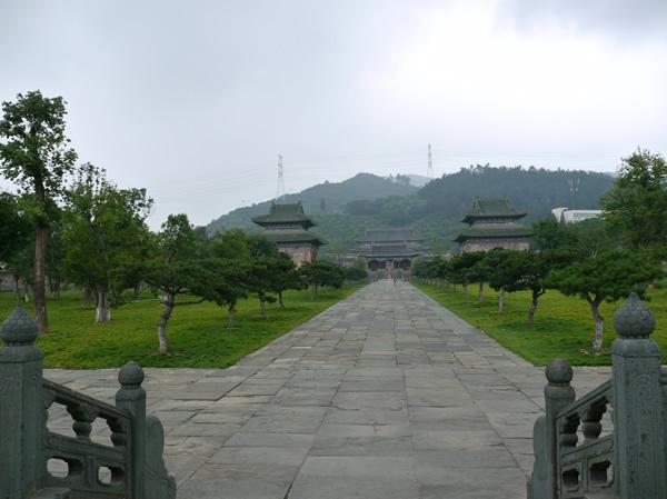 600年历史的美丽玉虚宫,武当道教传统武术馆