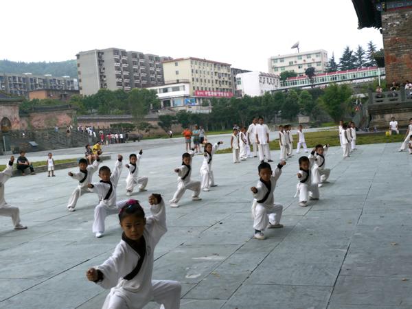 幼儿武术表演