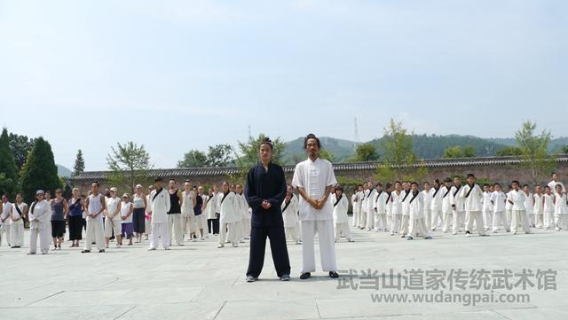 武当山道家传统武术馆学员风采