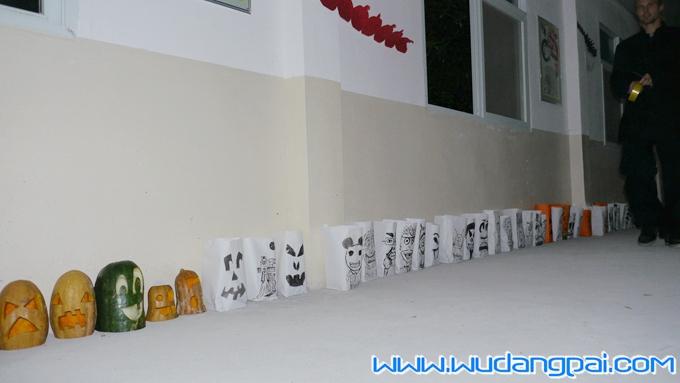 精彩纷呈的万圣节-武当山道家传统武术馆