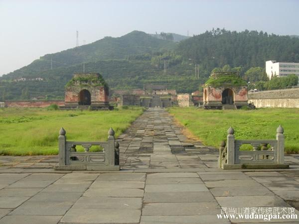 600年历史的玉虚宫