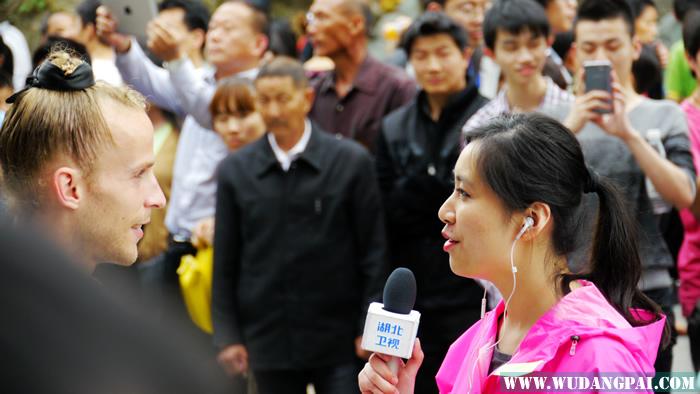 """湖北卫视武当山实况记录""""五一""""节日庆典  我馆学员受邀表演""""太"""