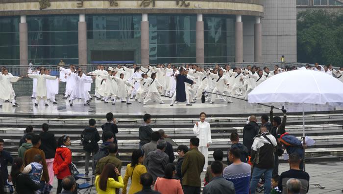 我馆40多人参与TVB新剧《潮拜武当》拍摄