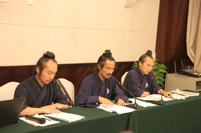 袁道长在首届演武大会上讲话