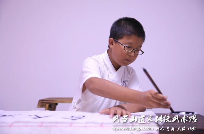 归真·中国梦!--夏令营书法课精彩留念!