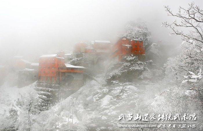 听说武当下雪了,你知道武当雪景有多美吗?