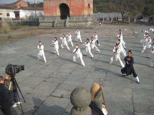 天津电视台来我馆拍摄