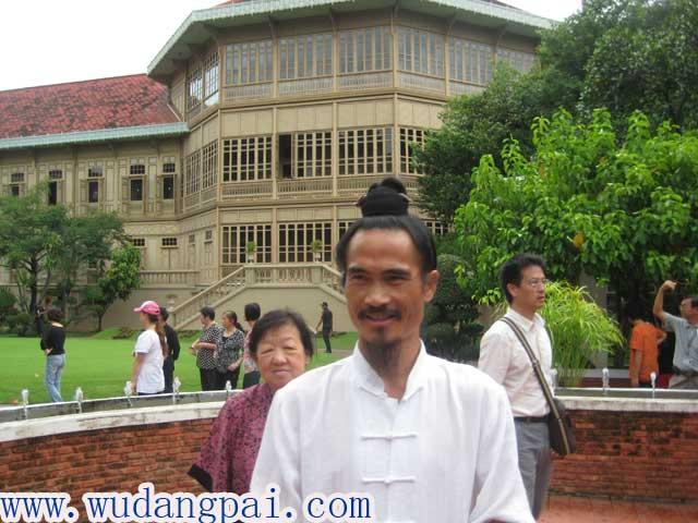 师懋道长被邀请泰国文化交流
