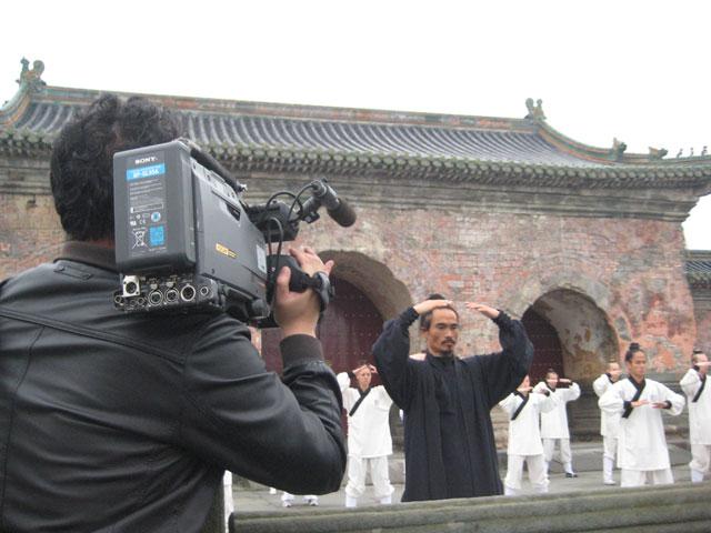 """道教协会拍摄""""太和武当""""在我馆取景"""