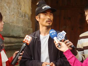 台湾综合媒体采访团来馆做客