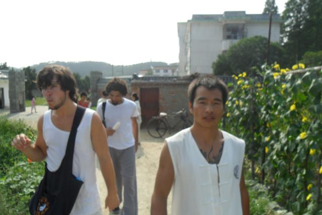 学员登山活动
