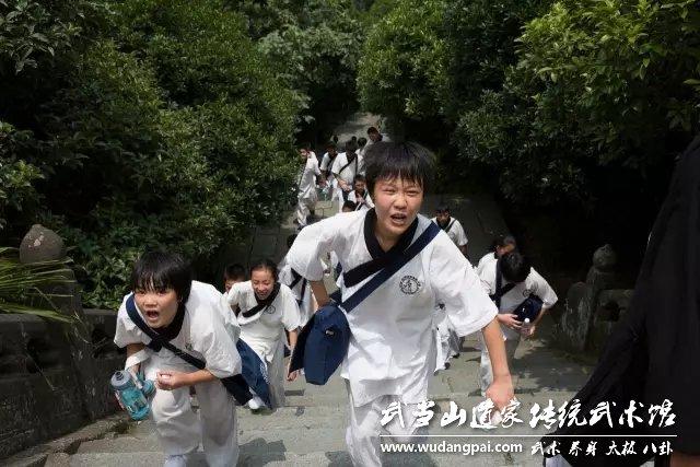 暑期武术夏令营-少年者说