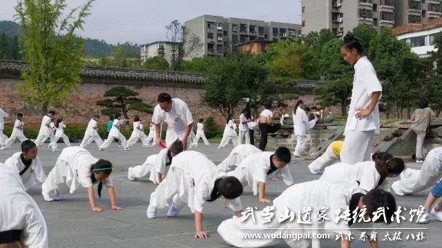 梅开二度∣武当山道家传统武术馆第二期夏令营隆重起航