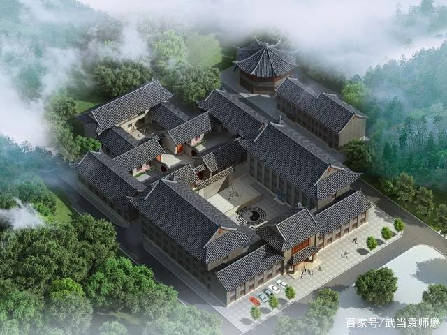 武当山道家传统武术馆遇真宫校区正式开工